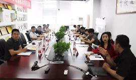 北京众诚天合科技有限公司领导来访竞博友道集团